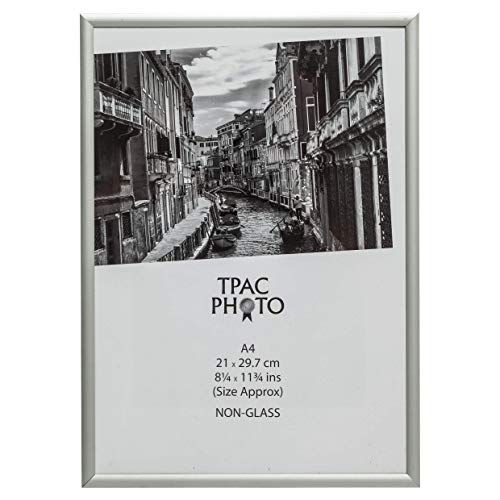The Photo Album Company PAAFA4B - Marco de fotos (aluminio satinado)