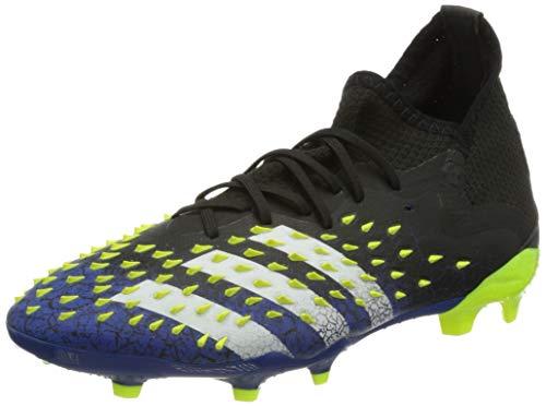 adidas Predator Freak .1 FG J, Zapatillas de fútbol, NEGBÁS/FTWBLA/Amasol, 32 EU