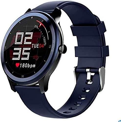 Reloj inteligente para hombres Ip68 impermeable pantalla táctil hombres mujeres fitness Trackers reloj con ritmo cardíaco seguimiento del sueño podómetro notificación de mensajes