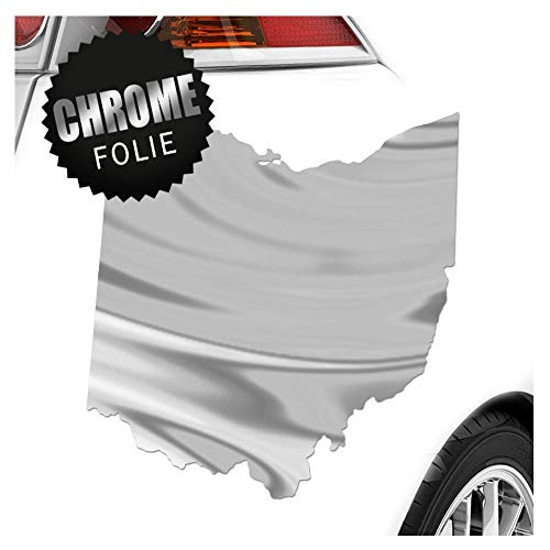 Kiwistar USA – Autocollant Ohio – 25 Couleurs Fluo Mat