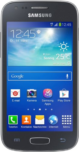 Samsung Galaxy Ace 3 Smartphone (10,2 cm (4 Zoll) Touchscreen, Dual-Core, 1,2GHz, 1GB RAM, 5 Megapixel Kamera, Android 4.2) schwarz