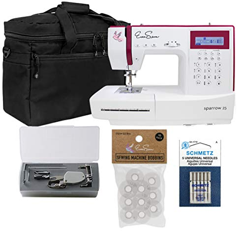 Buy Discount Ever Sewn Sparrow 25 – 197 Stitch Computerized Sewing Machine with Quilting Bundle