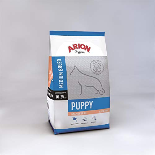 Arion Puppy Medium Salmon & Rice Comida para Perros - 12000 gr