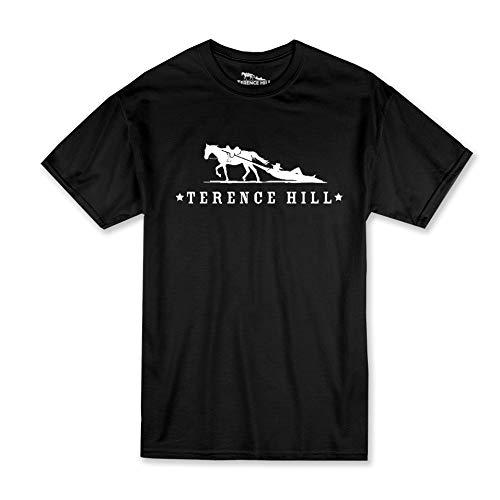 Terence Hill T-Shirt Official Logo (schwarz) (L)
