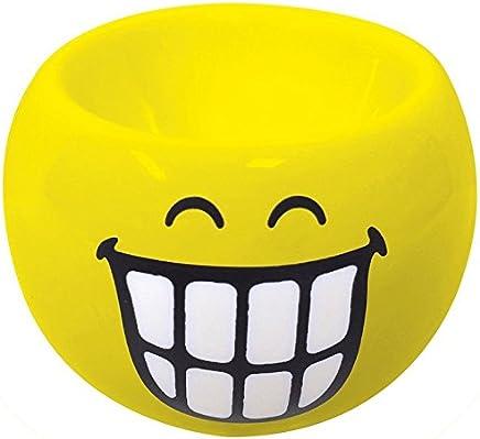 Preisvergleich für Zak Designs 6727-4460 Smiley Emoticon grinsen Eierbecher gelb