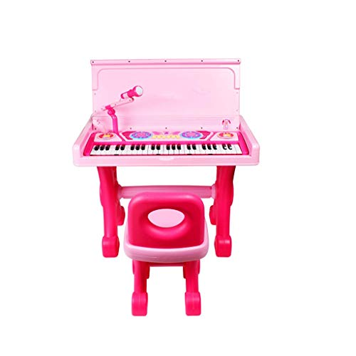 Zerodis- Juguete de Piano para ni/ños Instrumento de Piano Multi-funci/ón Juguetes de m/úsica electr/ónica Aprendizaje Educativo para ni/ños Mini Piano Teclado Carga por USB