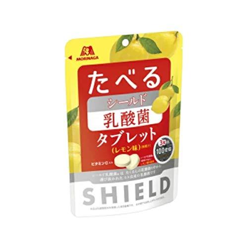 森永 たべる シールド乳酸菌タブレット レモン味  33g×4袋入