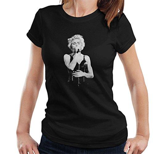 Madonna Whos That Girl World Tour Wembley 1987 Women's T-Shirt Black