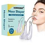 Nose Clip, Nose Shaper, Nasenformer,Nase Heben Shaping Clip Shaper Kit,Nasenlift Clips für die oberen Nasen,Nose Bridge Straightener Corrector,mit weichem Silikon