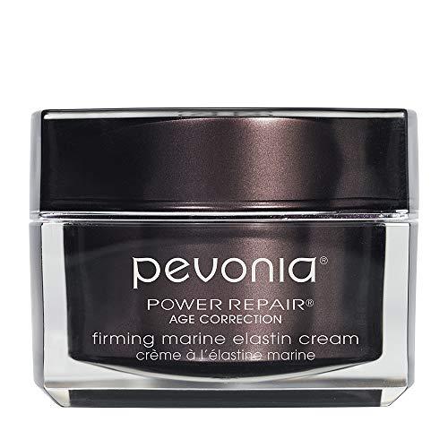 Pevonia Power Repair Age Correction Firming Marine Elastin Cream - Anti Aging Face Cream Skin Serum - Wrinkle Cream for Face - Deep Micro Pores Refine Facial Cream - 1.7 Oz Container