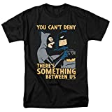 Batman: The Animated Series Catwoman T Shirt & Stickers (Medium) Black