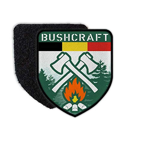 Copytec Patch Bushcraft Belgium Belgien Survival Outdoor Wald Prepper Abzeichen #34637