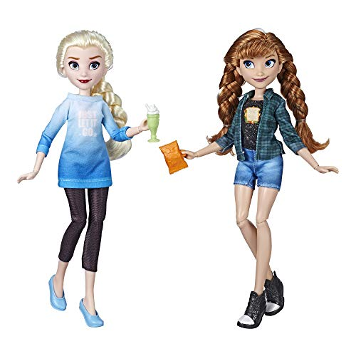 Mehrfarbig DISNEY PRINCESS DPR WIR 2 JASMINE AND AURORA Puppen