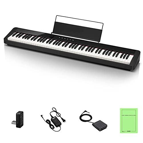 カシオ(CASIO)電子ピアノ Privia PX-S1100BK(ブラック) 88鍵盤 スリムデザイン