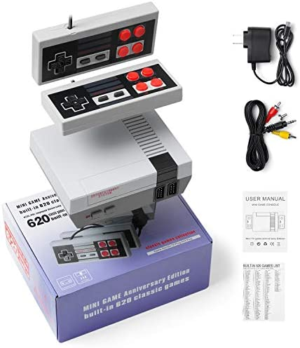 Shaboo Prints Retro Game Console AV Output Console Built in Hundreds of Classic Video Games product image
