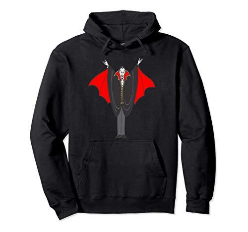 Vampire Count Disfraz de truco o trato de Happy Halloween l Sudadera con Capucha