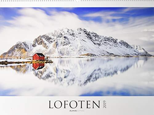 Lofoten 2019 - Nordmeer - Norwegen - Bildkalender XXL (64 x 48) - Landschaftskalender - Naturkalender