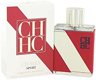 CH Sport by Çárólíñá Hérrérá for Men Eau De Toilette Spray 3.4 oz
