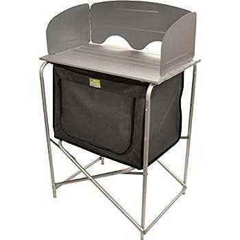 Meuble cuisine de Camping pliante en aluminium dispense avec poche