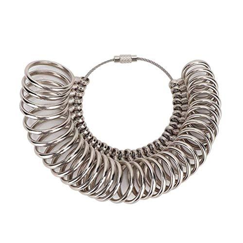 Kylewo Metalllegierung Ringmass Ringgröße Bestimmung Ring Gauge Gradmesser Size Measure Standard EU Größen