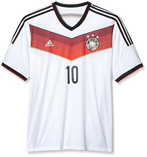 adidas Trikot DFB Fanshop Deutschland Home Podolski, Weiß, XXL, D04255