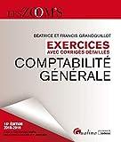 Comptabilité générale - Exercices avec corrigés détaillés - Gualino Editeur - 28/08/2018