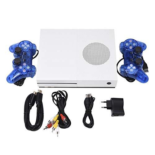 FOLOSAFENAR Consola de Juegos Gamepad Consola de Juegos Retro Ligera y de Gran Capacidad Mini, Compatible con la mayoría de los televisores LCD y con Pantalla(European regulations)