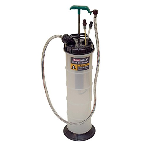 OEMTOOLS Manual Extractor 24397 9.5 Liter Hand-Pump Evacuator | Extract Oil, Transmission, Coolant,...