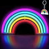 XIYUNTE rainbow luz de neón Señales luminosas LED rainbow señales de neón Iluminación de ambiente vistoso arco iris Iluminación de interior decoración para, bar, reunirse, navideña