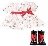 Götz 3403083 Babykombi Sweet Ladybug - Puppenbekleidung Gr. M - 3-teiliges Bekleidungs- und Zubehörset für Babypuppen von 42 - 46 cm