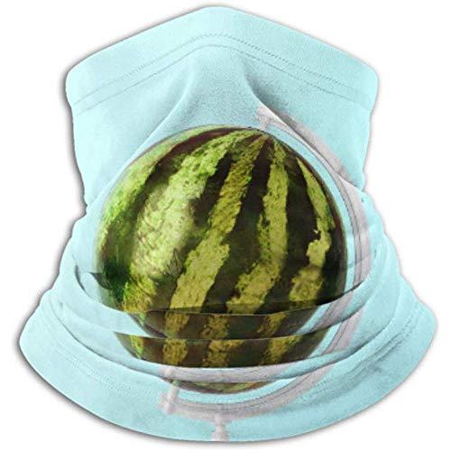 Linger In Halswärmer Globus Kugel Kugel Wassermelone Konzepte Auf Schal, Vollgesichtsmaske Oder Hut, Halsmanschette, Halskappe Skimaske