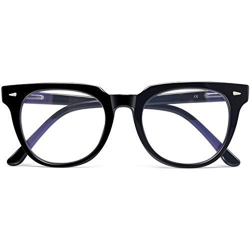 KANASTAL Gafas Luz Azul Mujer y Hombre para Ordenador Lentes Antireflejantes con Filtro de Luz Azul Gafas de Bloqueo de Luz Azul con Protección UV400 sin Graduación Unisex