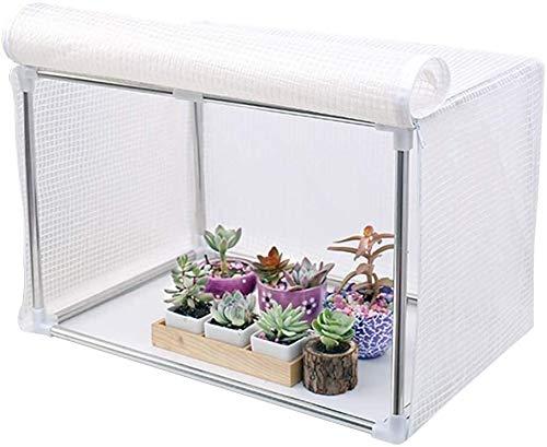 Mini Invernadero De Cubierta Portátil Pequeña para Plantas De Jardinería, Plantas Domésticas Y Crece Libremente Impermeable Resistente Al Frio Cobertizo De Plástico (Size : 60x40x40cm)
