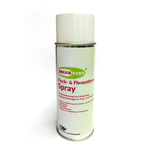 Druckecke Flock & Flexentferner Spray 400ml Industrieprodukt (97,30 € / 1 L)