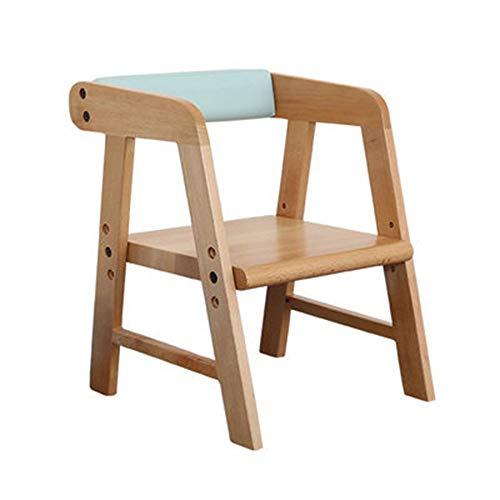 YUMEIGE Kruk kinderstoel PU/Cotton materialen, meerdere kleuren beschikbaar, houten kruk hoogte verstelbaar 9/10.2/11.4inch,kinderkruk 1-8 jaar oude lading 90kg