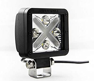 SYLVANIA LED CUBE-X Off-Road Spot Light, (Contains 1 Light)