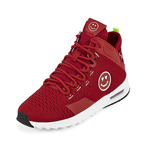 Zumba Air Classic Remix - Zapatillas de deporte para mujer, rojo (Rojo sonriente.), 39 EU
