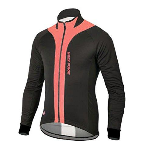 Uglyfrog CXT03 Termico Invernale Uomini Sport all'Aria Aperta Usura Manica Lunga Magliette Ciclismo Maglia Bicicletta Bici Abbigliamento Bici Triathlon Wear