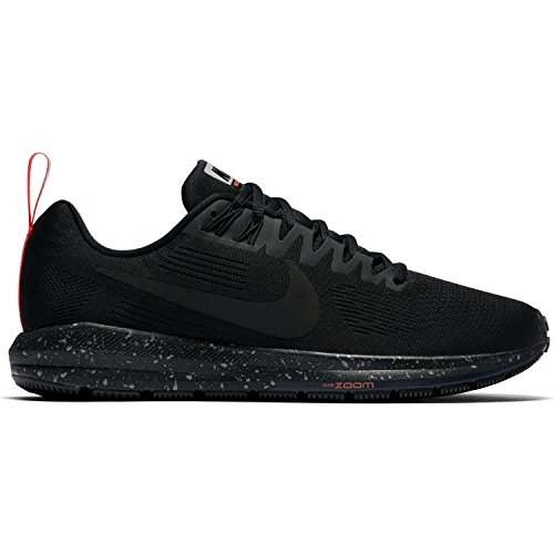 Nike Women Air Zoom Structure 21 Running Schuh 907323, 38, black/black-black-obsidian