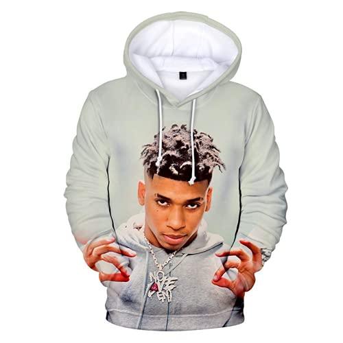 NLE Choppa Hoodie Unisex TOP 3D Printed Pullover Sweatshirt for Men Women Teen Medium