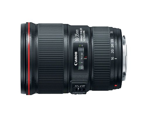 Canon EF 16-35mm f/4L IS USM Lens - 9518B002 , Black