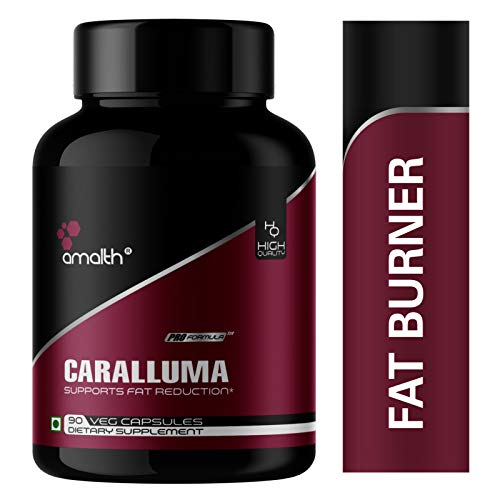 Amalth Caralluma Fimbriata Extract Powder 1000 Mg 90 Veg Capsule Helps Weight Loss and Burn Fat