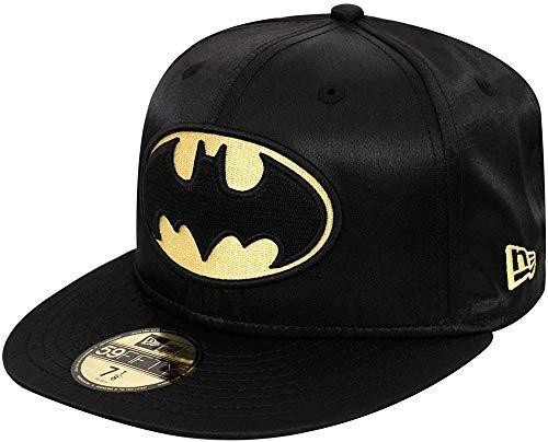 New Era - Casquette ajustée DC Comics Batman 80th Satin 59Fifty - Noir - Noir - 7 1/2 (59.6 cm)