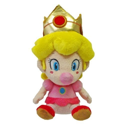 Global Holdings Little Buddy Super Mario, Baby Peach Plüsch, 12,5 cm