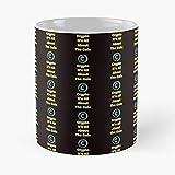 Crypto Its All About The Coin Meilleure - Taza de café de cerámica blanca (11 oz), color blanco