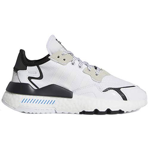 Adidas Originals Nite Jogger Fw2284 - Zapatillas de deporte para niños, Blanco (blanco/blanco/negro ), 35 EU