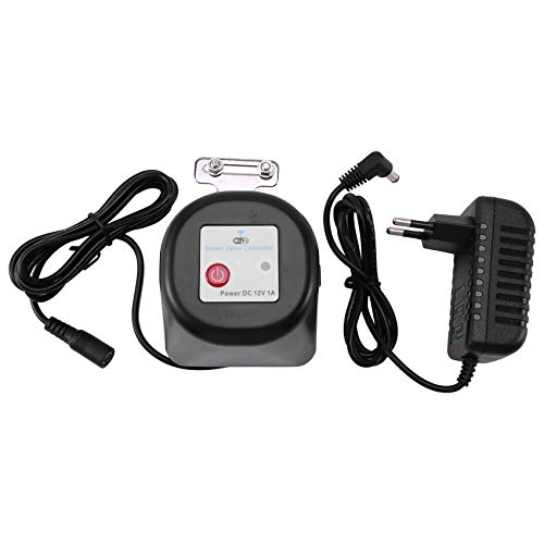 Huante para Tuya Smart válvula de agua a gas, wifi, parada en el contrato, funciona con Amazon Alexa Assistant-EU Plug