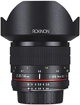 Rokinon 14mm f/2.8 IF ED UMC Ultra Wide Angle Fixed Lens