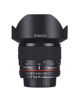 Rokinon 14mm f/2.8 IF ED UMC Ultra Wide Angle Fixed Lens w/ Built-in AE Chip for Nikon (B004NNUN02) | Amazon price tracker / tracking, Amazon price history charts, Amazon price watches, Amazon price drop alerts