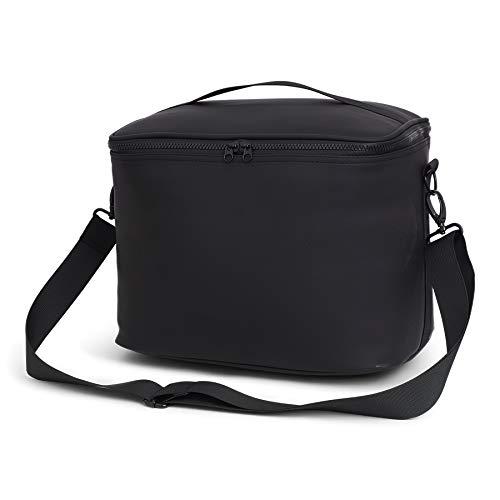 Dull Pu Premium Coolerbag sporttas, 36 cm, 20 L, zwart